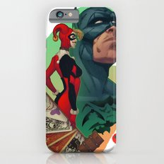 Deadly Hand - Bat man, Harley Quinn and Joker (TS color) Slim Case iPhone 6s