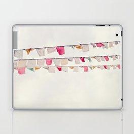prayer flags no. 2 Laptop & iPad Skin