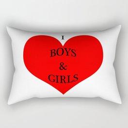 I *heart* Boys & Girls Rectangular Pillow