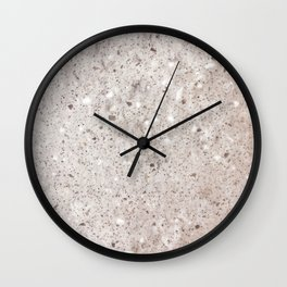 West Coast Sepia Sand Wall Clock