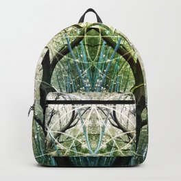 Bamboo Forest Geometry Backpack