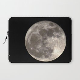 Can you see the man in the Moon smiling at us? Laptop Sleeve