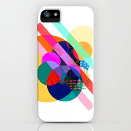 "COLLAGE: ""AGAIN 1"" iPhone Case"