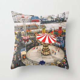 It's All Fun & Games Throw Pillow