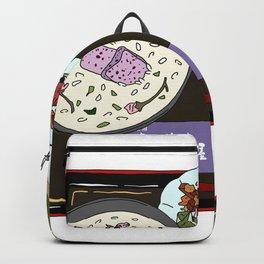 Nara Japanese Lunch Platter Backpack