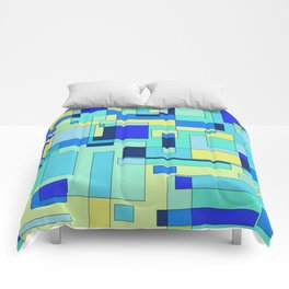 Digital geometric design 3 Comforters