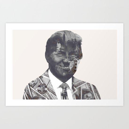 Sir Donald Trump Art Print