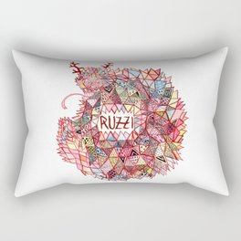 Ruzzi # 001 Rectangular Pillow