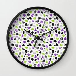 Crayon Rocks 05 Wall Clock