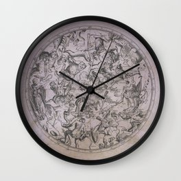Vintage Constellations & Astrological Signs | Beetroot Paper Wall Clock