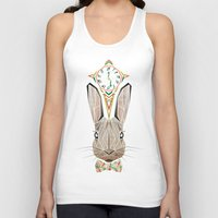 rabbit Tank Tops featuring rabbit by Manoou