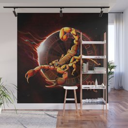 Horoscope Signs-Scorpio Wall Mural