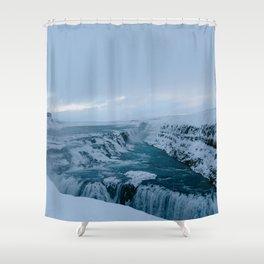 Gullfoss, Iceland Shower Curtain