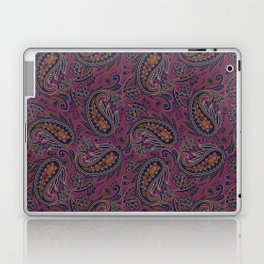 Meredith Paisley - Eggplant Purple Laptop & iPad Skin