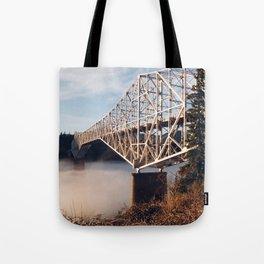 The Bridge of the Gods Sunset Tote Bag