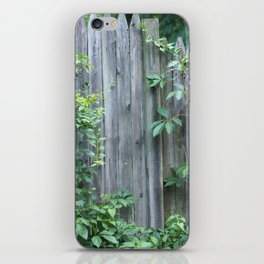 Climbing the Fence iPhone Skin