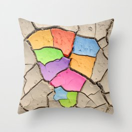 colourful Africa Throw Pillow