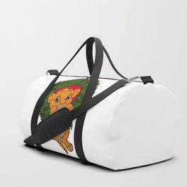 Christmas Simba Duffle Bag