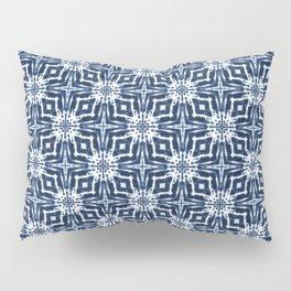 Watercolor Shibori Indigo Pillow Sham