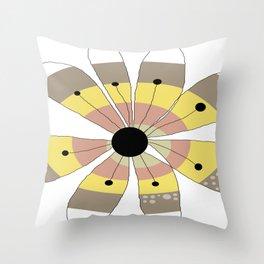 FLOWERY NANA / ORIGINAL DANISH DESIGN bykazandholly Throw Pillow