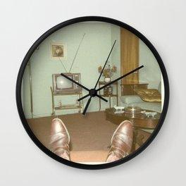 January 1971 Wall Clock