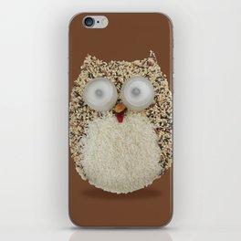 Specs, The Grainy Owl! iPhone Skin