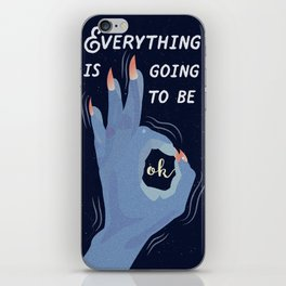 A Navy Promise iPhone Skin