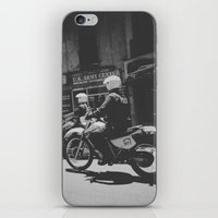 police iPhone & iPod Skins featuring Montevideo Police by gatodeplanetearth