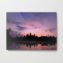 Ang Kor and the Sun Metal Print