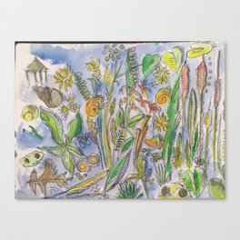 Pondlife Canvas Print
