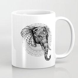 Mandala Elephant Coffee Mug