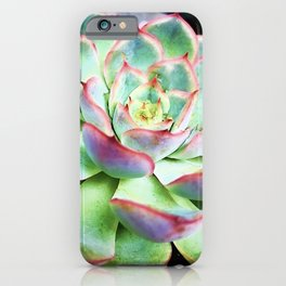 Good Vibes Succulent iPhone Case