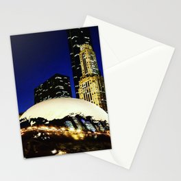 The Chicago Bean #3 Stationery Cards
