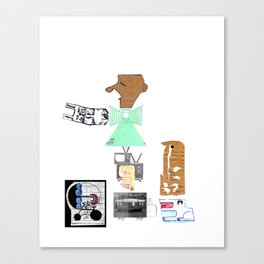 Street Vendor No. 6 Canvas Print