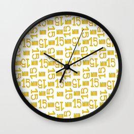 Project 2 (fifteen) Wall Clock