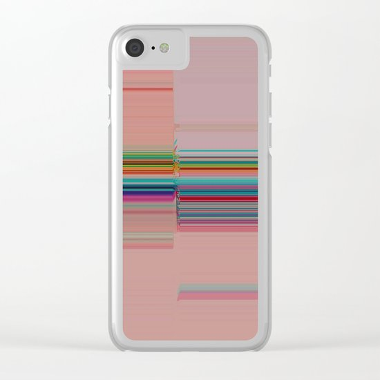 Off-Kilter Clear iPhone Case