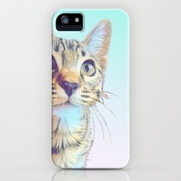 Gouda Blue iPhone Case