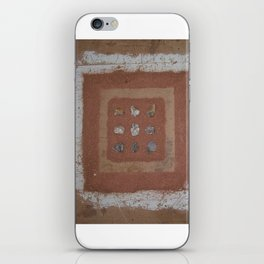 Stones and Sawdust iPhone Skin