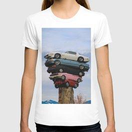 pile up T-shirt