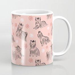 Yorkshire Terrier Pattern Coffee Mug