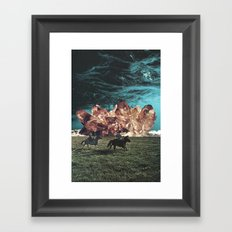 Riders On The Storm Framed Art Print