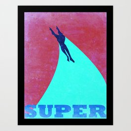 Heroic Men #1 Art Print
