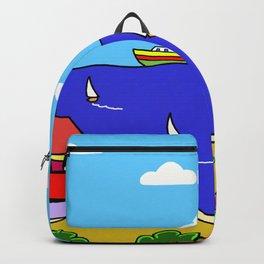 Mediterranean Holiday Backpack