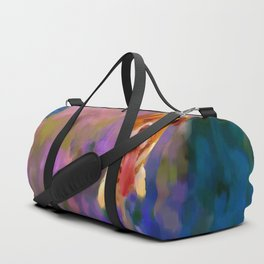 A boy and his dog Duffle Bag
