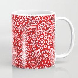 Amirah Red Coffee Mug
