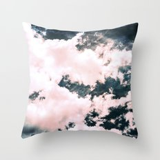 Ocean Clouds Throw Pillow
