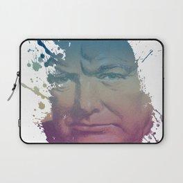 Winston Churchill - Splash Laptop Sleeve