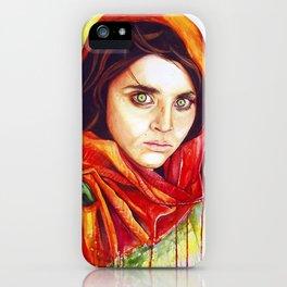 Sharbat Gula  iPhone Case