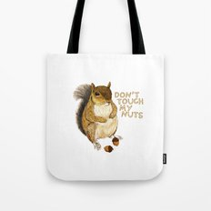 Irreverent Squirrel Tote Bag
