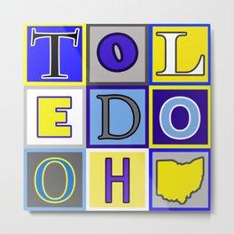 University of Toledo Ohio Metal Print